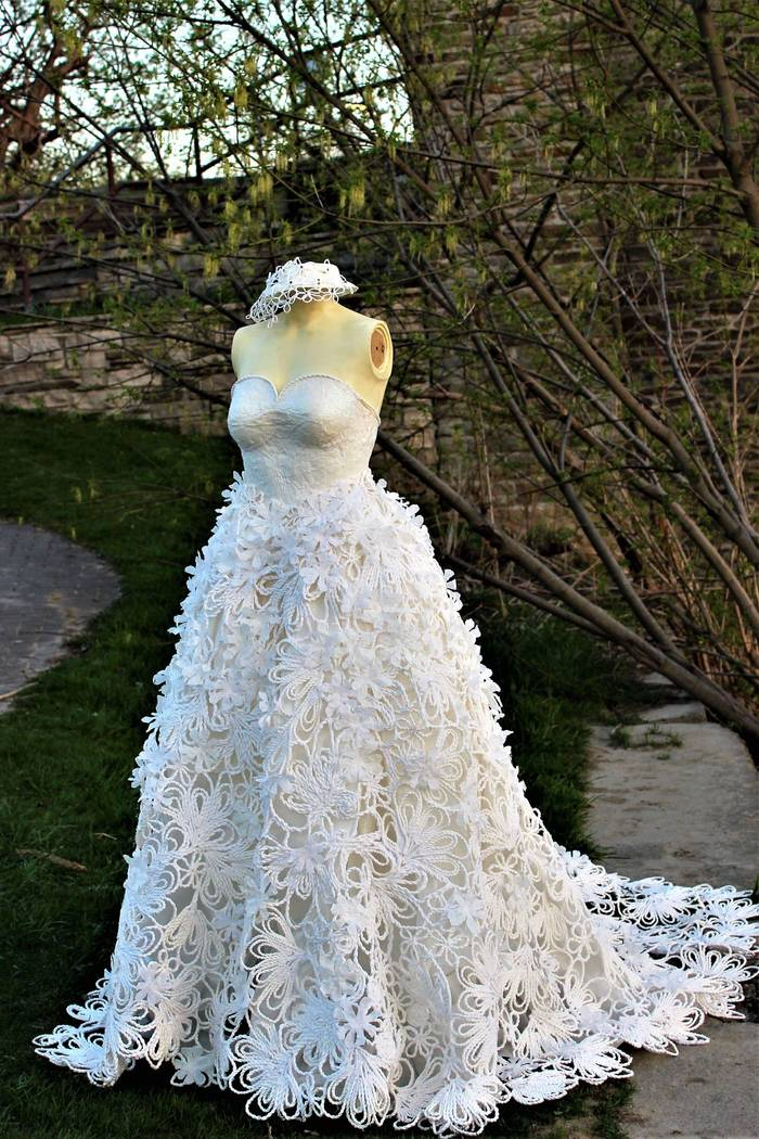 Photos From The 14th Annual Toilet Paper Wedding Dress Contest
