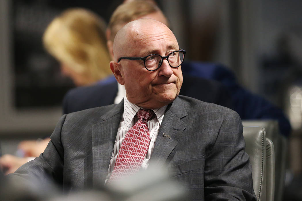 Las Vegas Convention and Visitor Authority President Rossi Ralenkotter during a board meeting at the Las Vegas Convention Center in Las Vegas, Tuesday, June 12, 2018. Erik Verduzco Las Vegas Revie ...