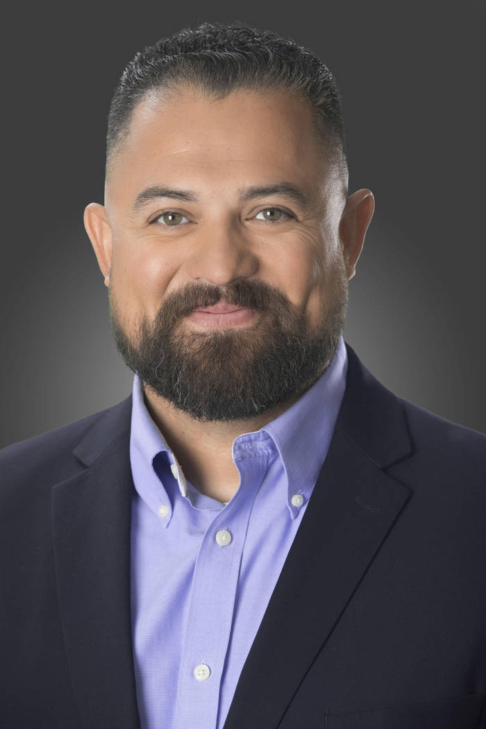Laborers Local 872 vice president Marco Hernandez, 37, is running for Clark County Commission. He will face state Sen. Tick Segerblom in the Democratic primary for the District E seat. (Photo prov ...