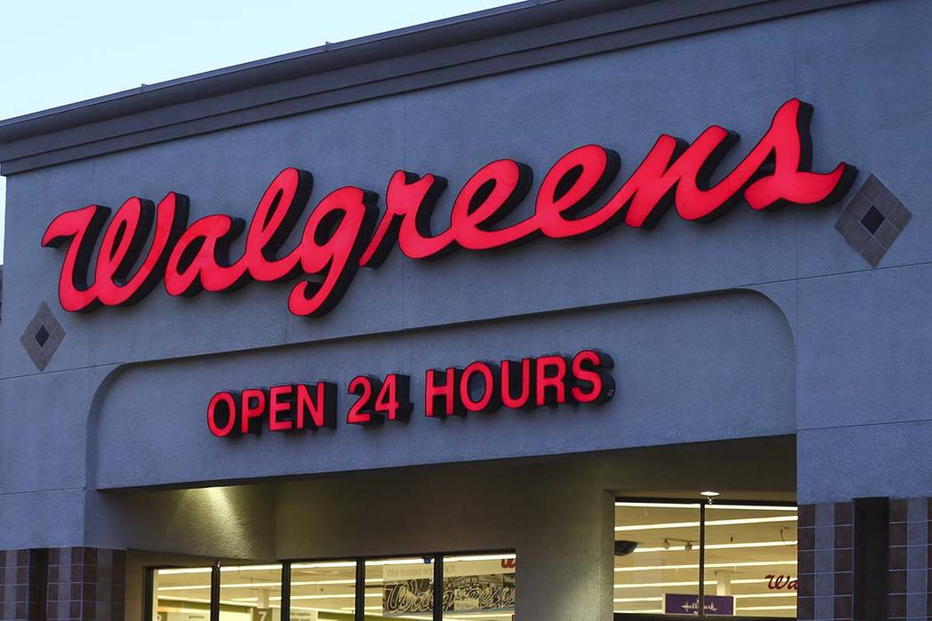 Walgreens has 11 locations in the valley to drop off unused pills for free, ensuring that the active ingredients don't get into Nevada's landfills or sewage systems. Chase Stevens/La ...