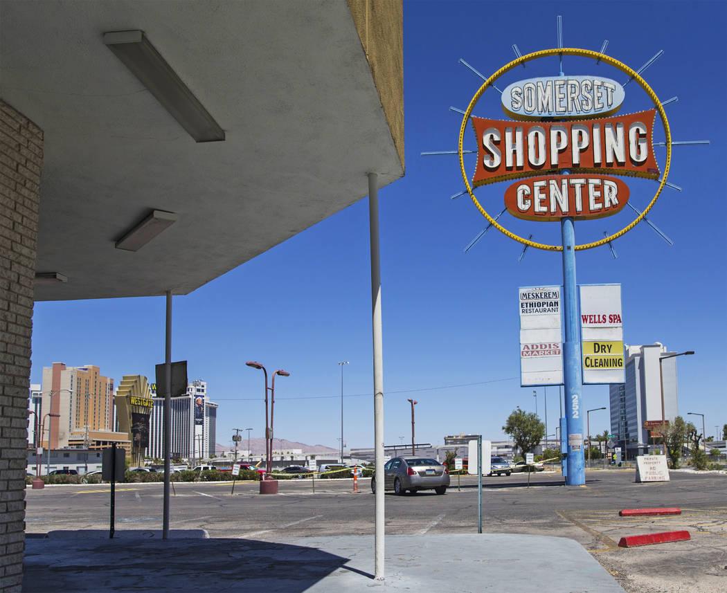 The Somerset Shopping Center on Monday, June 11, 2018, in Las Vegas. Benjamin Hager Las Vegas Review-Journal @benjaminhphoto