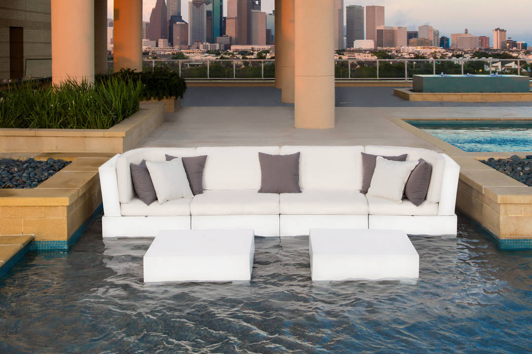Ledge Lounger The Ledge Lounger in-pool Signature sectional and table is made up of modular pieces that can be connected into different arrangements to fit your space. The sectional's high-quali ...