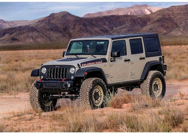 Jeep The Jeep Wrangler Unlimited, the perfect vehicle for all adventure seeking dads.
