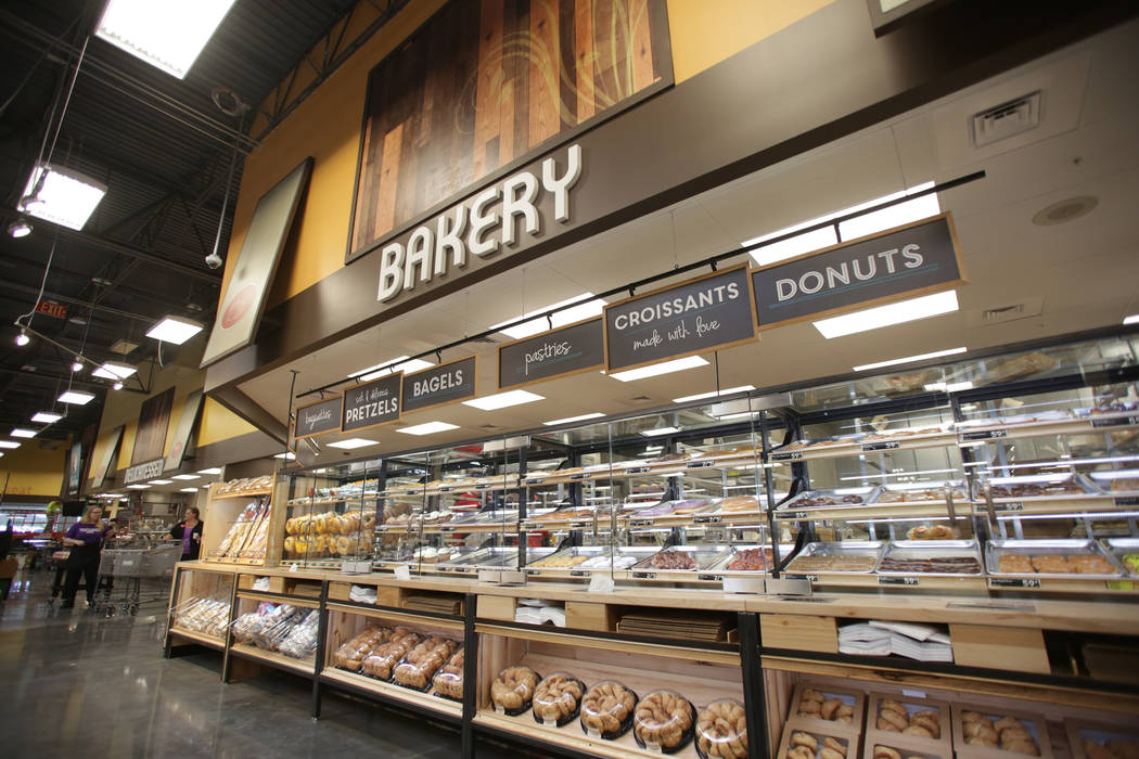 The bakery of the new 125,000-square-foot Smith's Marketplace on Skye Canyon Road on Tuesday, June 12, 2018 the day before it's grand opening. Michael Quine Las Vegas Review-Journal ...