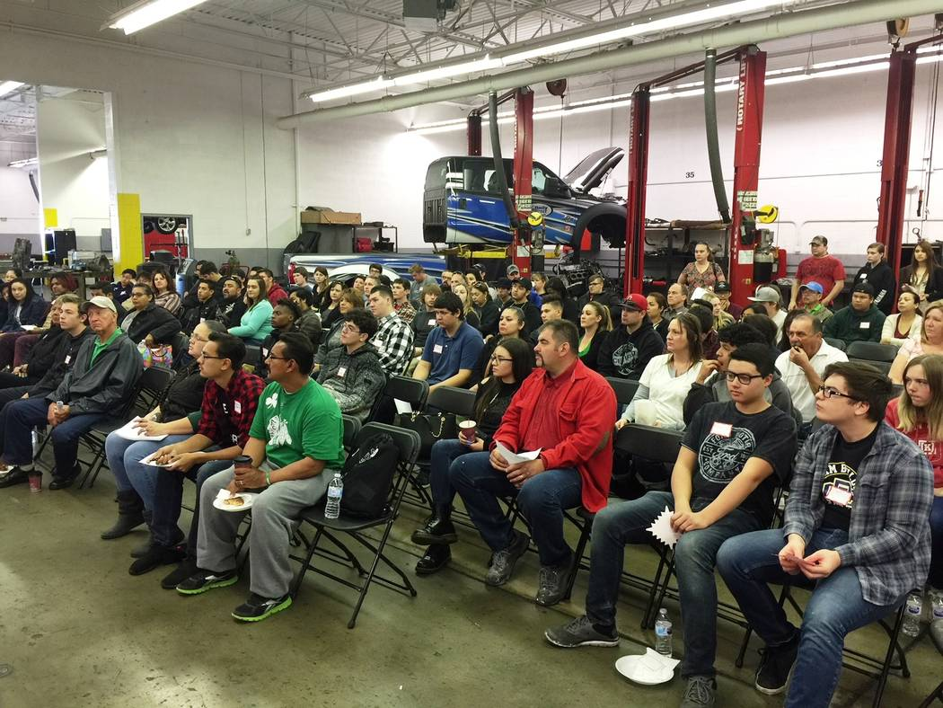 Friendly Ford A record crowd visited Friendly Ford earlier this year to hear representatives of Universal Technical Institute, which offers education for individuals wanting to enter the transport ...