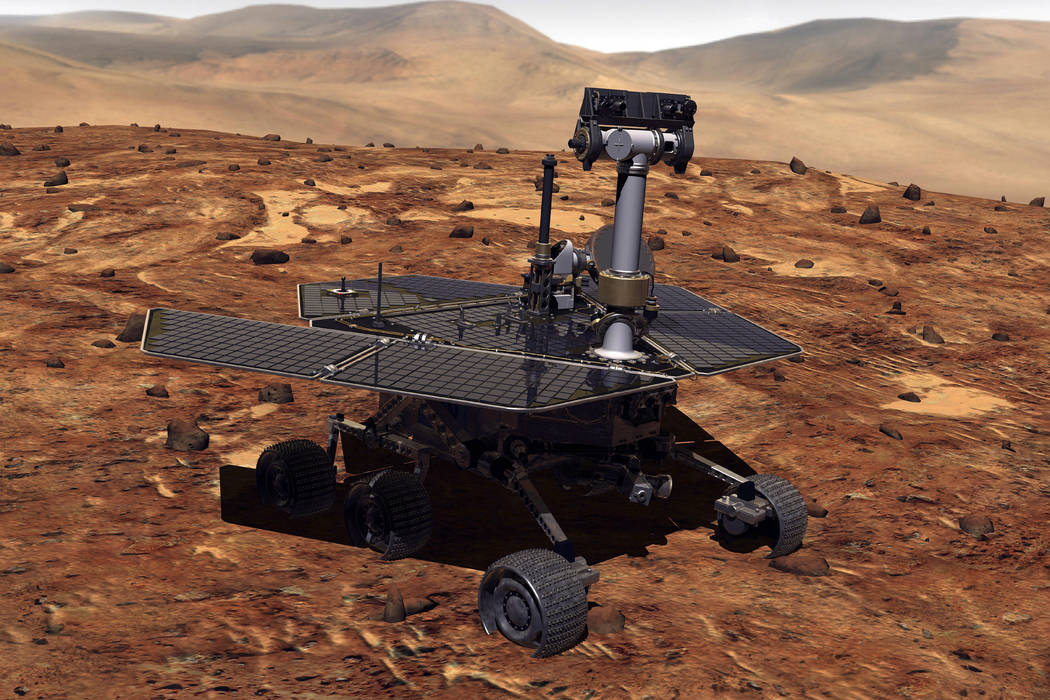 Artists rendition of Mars Rover (Getty Images)