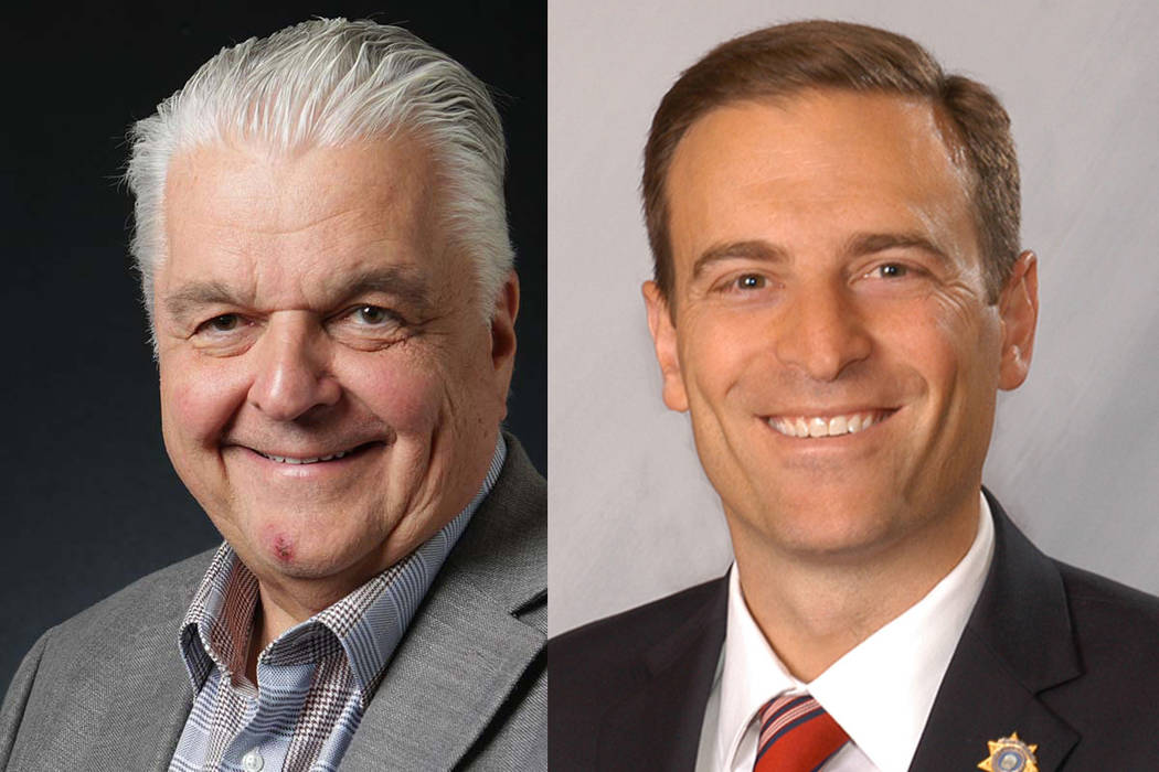 race to be next nevada governor appears to be a toss up las vegas