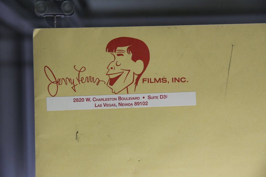 "A copy of the synopsis for ""The Day the Clown Cried,"" a film directed by and starring late Jerry Lewis, on display during the Julian's Auctions Property from the estate of Jerry Lewis in ..."