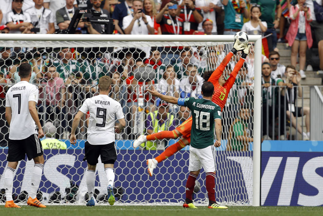 Mexico shocks defending champ Germany 1-0 at World Cup  0ecdb920d