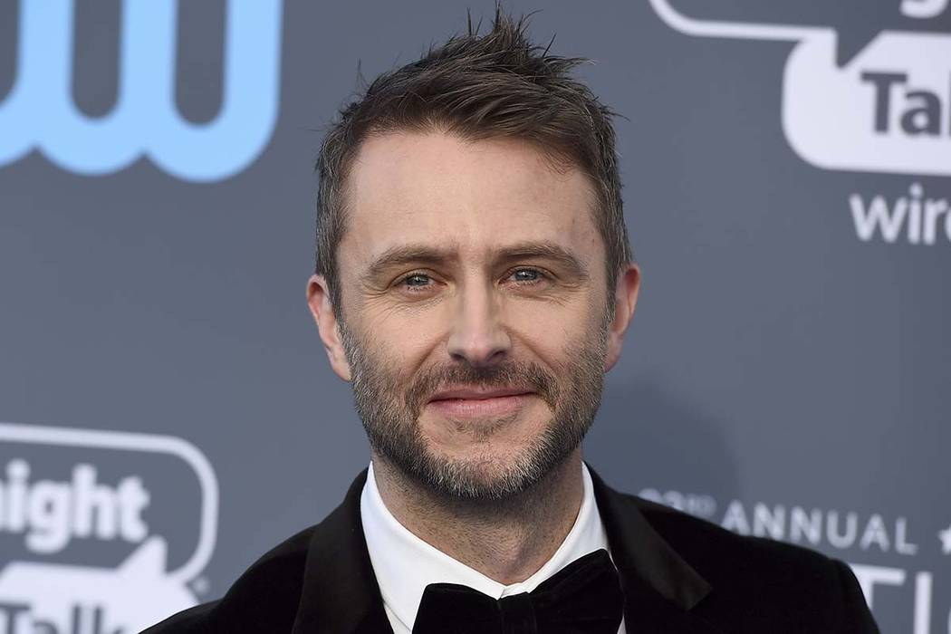 Chris Hardwick's talk show is on hold and he has withdrawn as moderator of AMC and BBC America's Comic-Con panels, according to AMC Networks. (Photo by Jordan Strauss/Invision/AP)