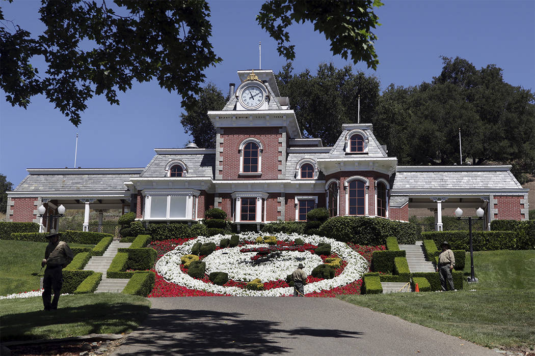 Michael Jackson's former home, Neverland Ranch. (Carolyn Kaster/AP)