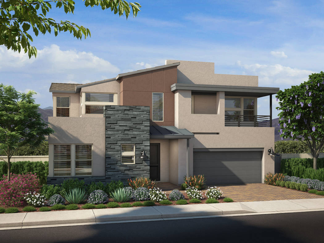 A June 23 grand opening is planned to show off Skye Canyon's new second phase of residential development. (Skye Canyon)