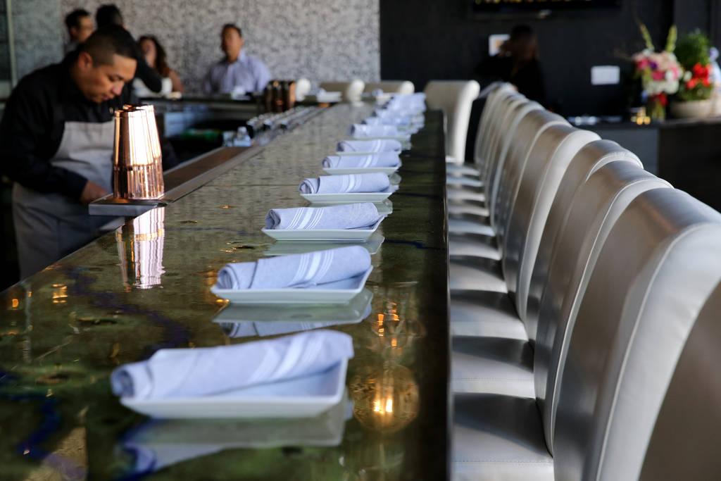 Mordeo Boutique Wine Bar at 5420 Spring Mountain Road in Las Vegas Thursday, June 14, 2018. K.M. Cannon Las Vegas Review-Journal @KMCannonPhoto
