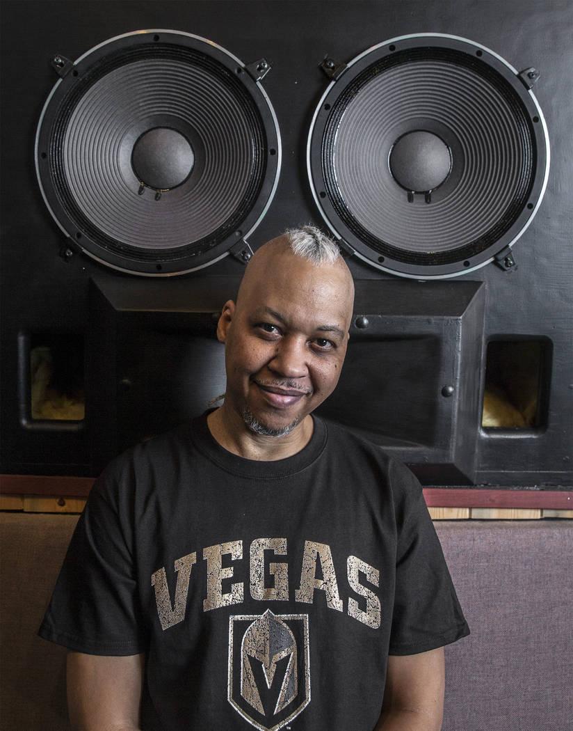 Hip-hop producer Tiger Stylz at Digital Insight Recording Studio on Wednesday, June 20, 2018, in Las Vegas. Benjamin Hager Las Vegas Review-Journal @benjaminhphoto