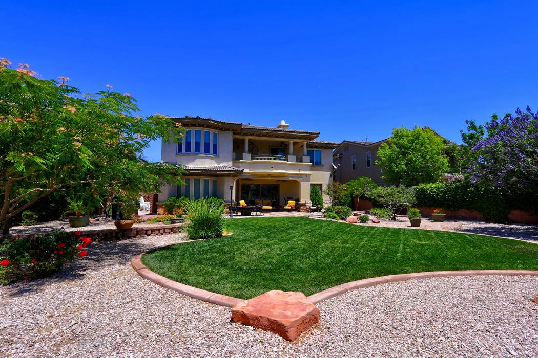 The two-story house measures 4,107 square feet. (Lisa Paquette TourFactory)