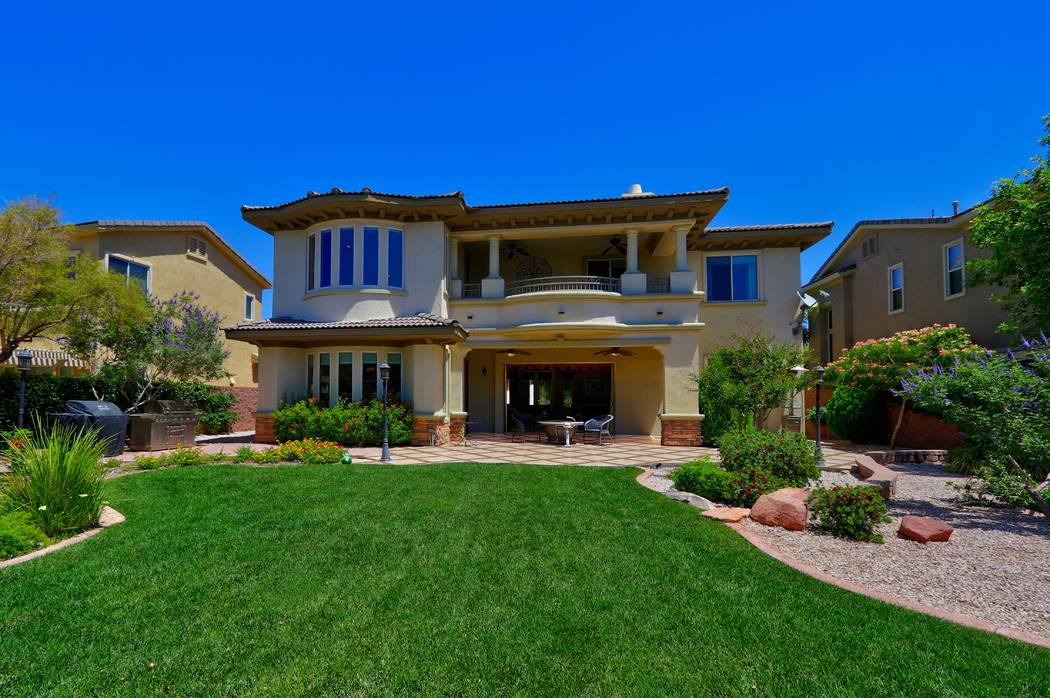 The home has a large backyard. (Ron Magee)