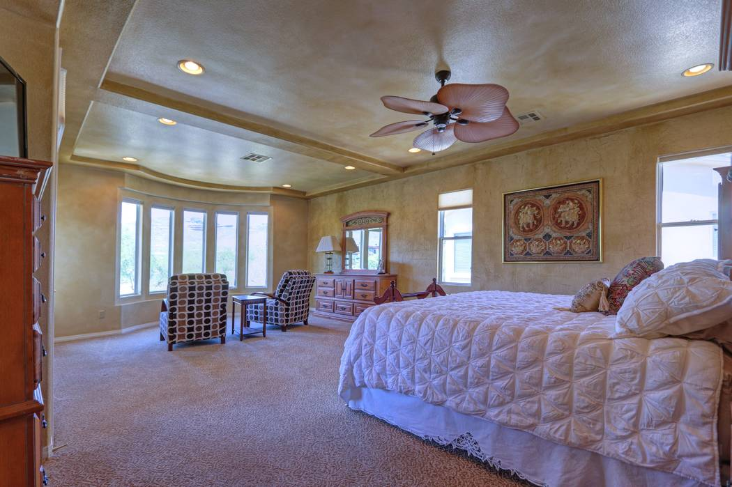 The Master Bedroom Has A Bay Window Lisa Paquette Tourfactory