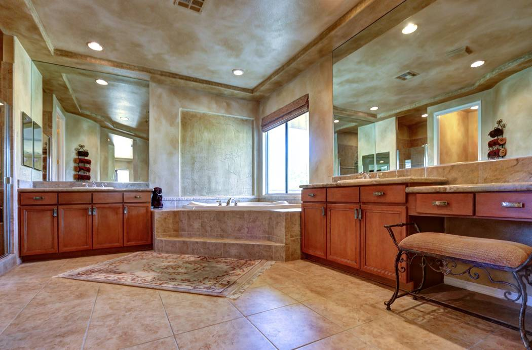 Master bathroom. (Lisa Paquette TourFactory)
