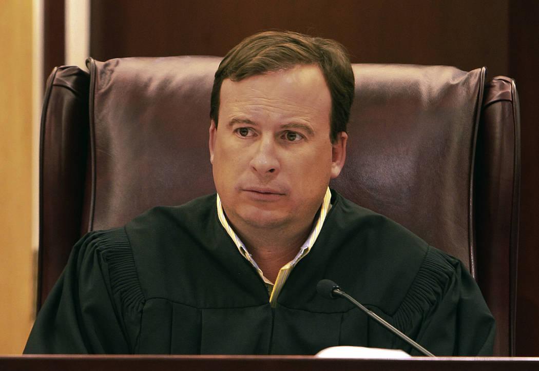 North Las Vegas Municipal Court Judge Sean Hoeffgen (Las Vegas Review-Journal)