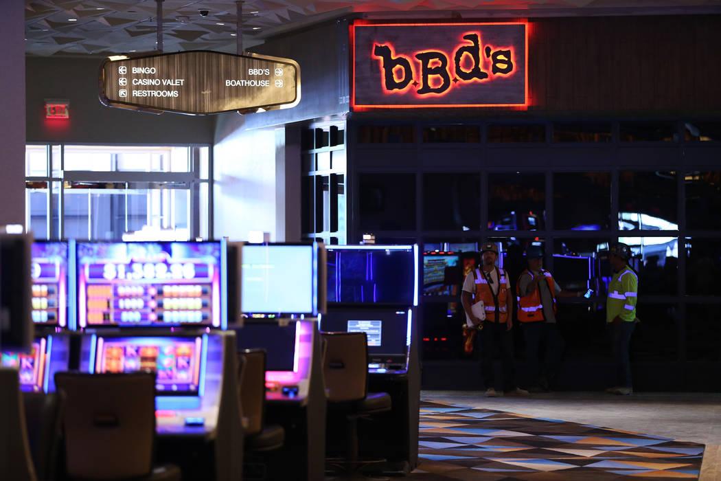 BBD's restaurant inside the expansion area of the Palace Station in Las Vegas, Wednesday, June 20, 2018. (Erik Verduzco/Las Vegas Review-Journal) @Erik_Verduzco