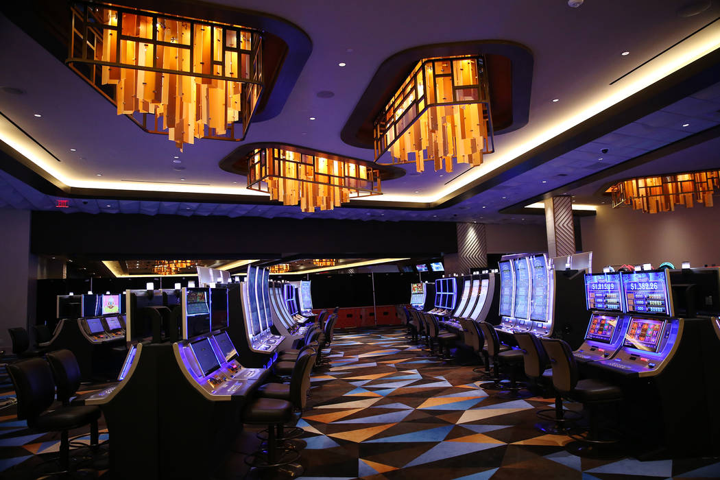 The casino floor inside the expansion area of the Palace Station in Las Vegas, Wednesday, June 20, 2018. (Erik Verduzco/Las Vegas Review-Journal) @Erik_Verduzco