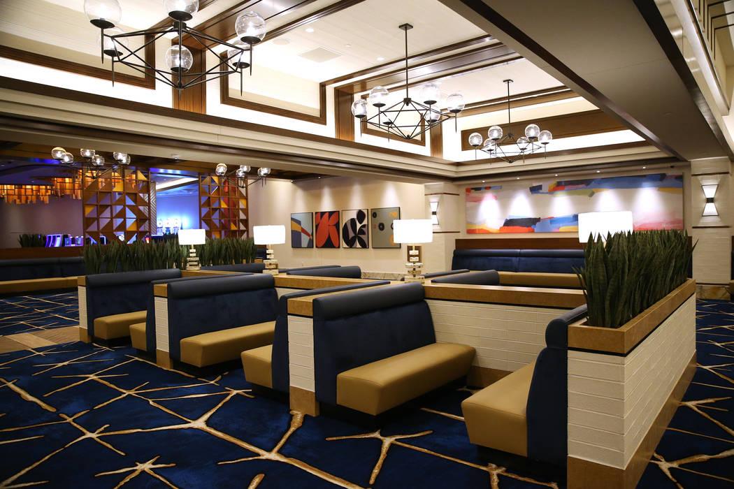 The Feast Buffet inside the expansion area of the Palace Station in Las Vegas, Wednesday, June 20, 2018. (Erik Verduzco/Las Vegas Review-Journal) @Erik_Verduzco