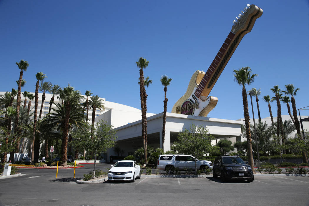 The Hard Rock Hotel in Las Vegas, Thursday, June 14, 2018. (Erik Verduzco/Las Vegas Review-Journal) @Erik_Verduzco