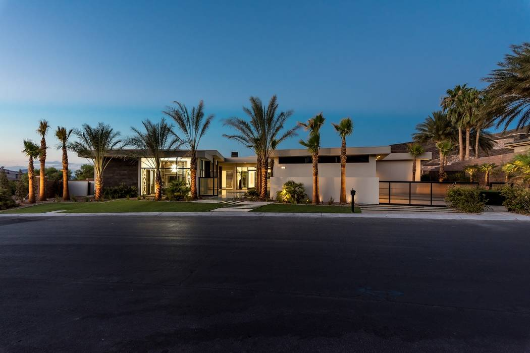 This MacDonald Highlands home was completed in 2017 by Sun West Custom Homes. It is listed for nearly $8M. (Sun West Custom Homes)