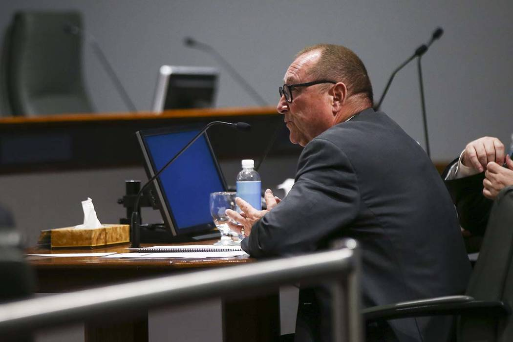 Las Vegas Convention and Visitors Authority President and CEO Rossi Ralenkotter apologized for using the agency's resources for personal travel. Chase Stevens Las Vegas Review-Journal @csstevensphoto