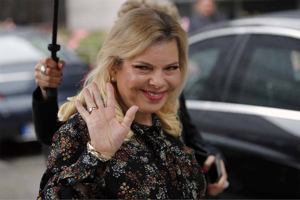 Israeli prosecutors have charged Sara Netanyahu, the prime minister's wife, with a series of crimes including fraud and breach of trust. (Francois Mori/AP file)