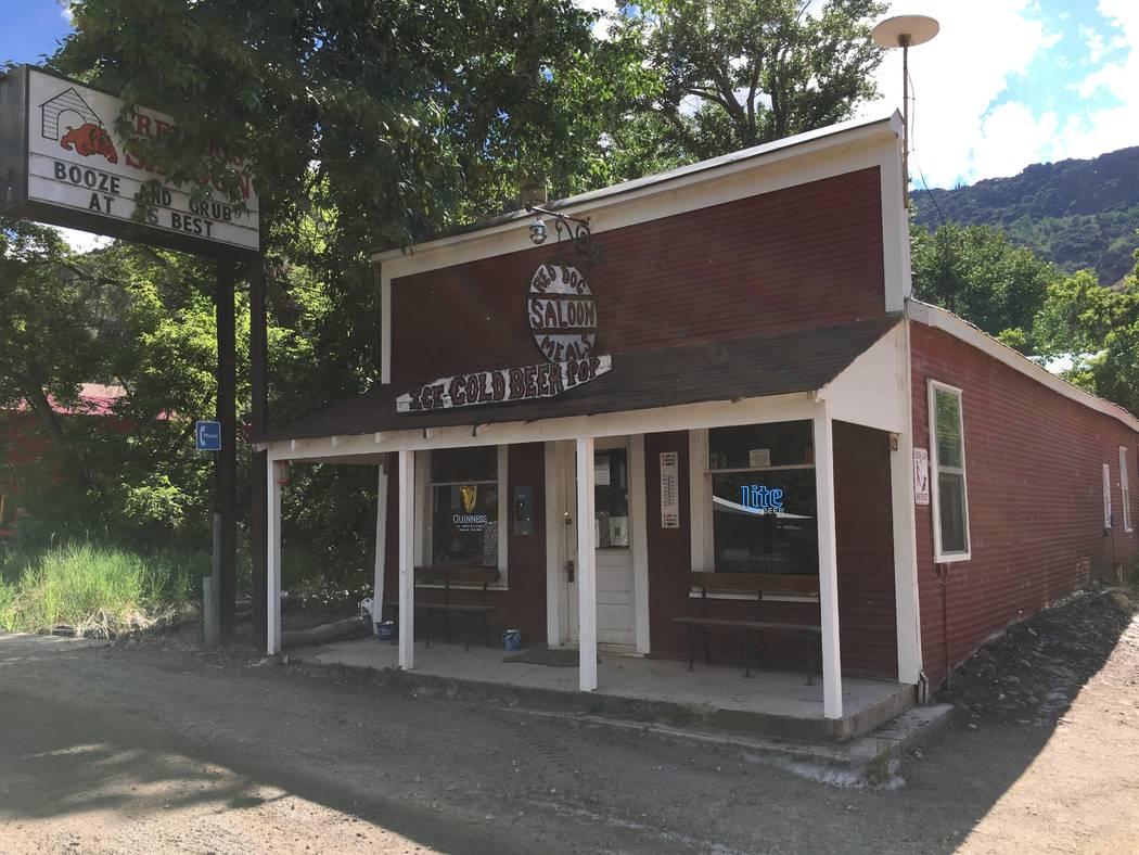 The Red Dog Saloon on Main Street in Jarbidge, Nevada, June 21, 2018. (Courtesy of Jason Stegall)