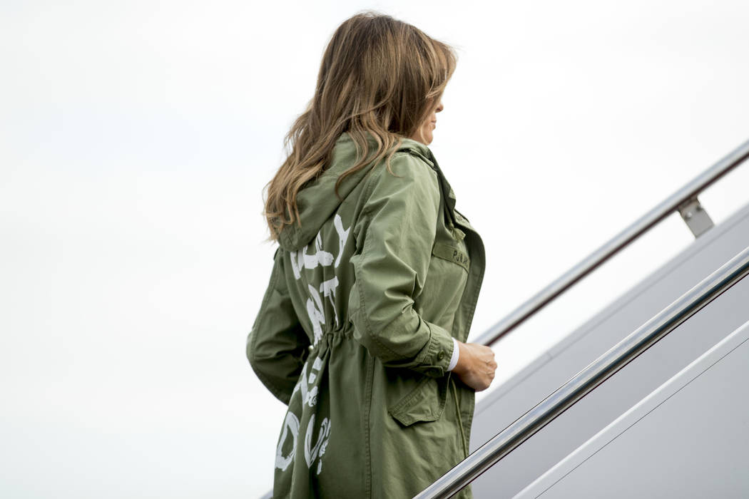 Melania Trump wears 'I don't care' jacket to visit separated migrant children