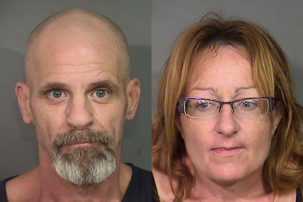 Charles Ausiello, 55, and Jolene Hibbs, 45 (Las Vegas Metropolitan Police Department)