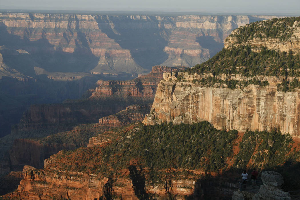 The North Rim of Grand Canyon National Park, Ariz., is home to one of the finest and most sought-after views in the world. (Las Vegas Review-Journal)