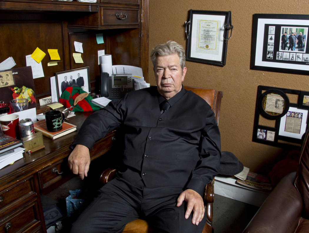 """This undated image released by History shows Richard Harrison from """"Pawn Stars."""" Harrison's son Rick posted on Facebook, Monday, June 25, 2018, that his father died surrounded by family ..."""