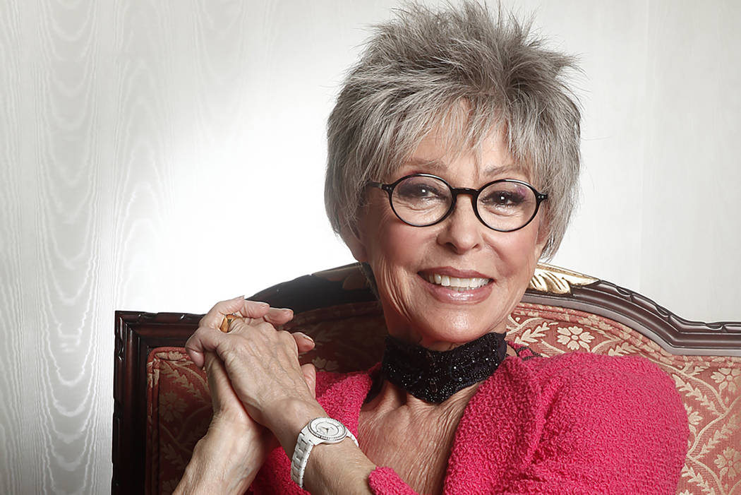 Actress Rita Moreno poses for a portrait at the Waldorf Astoria Hotel, Mar. 6, 2012 in New York. (AP Photo/Carlo Allegri)