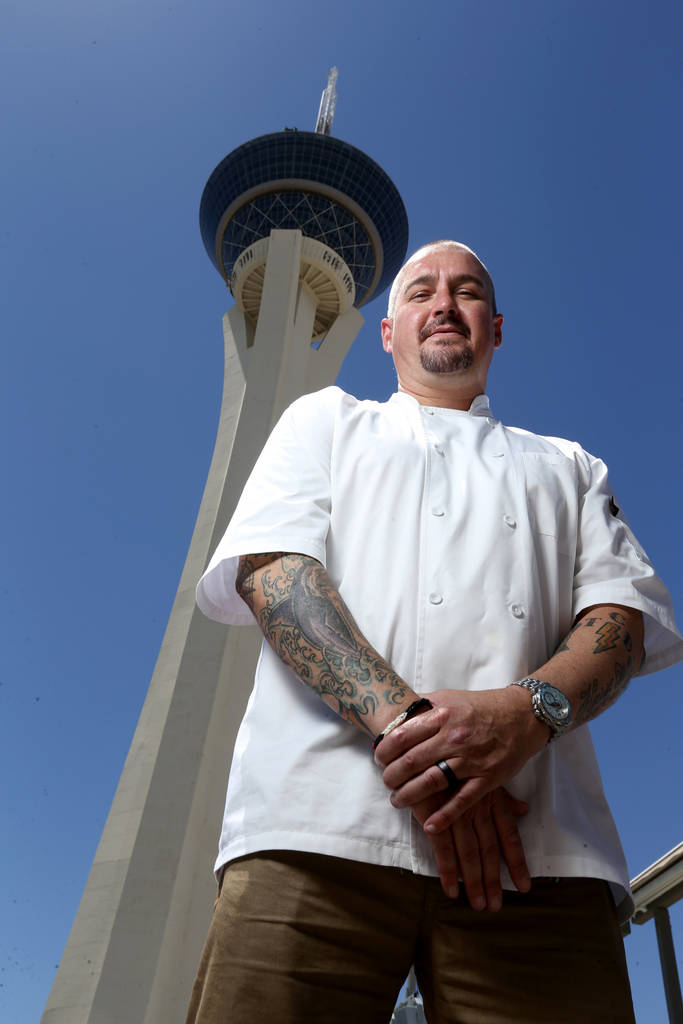 Chef Johnny Church, corporate executive chef at Golden Entertainment, Inc., at the Stratosphere in Las Vegas Friday, June 22, 2018. K.M. Cannon Las Vegas Review-Journal @KMCannonPhoto
