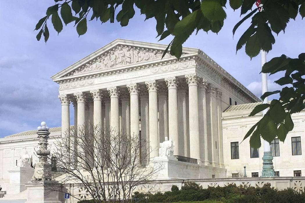 The Supreme Court building in Washington, D.C. (Jessica Gresko/AP)