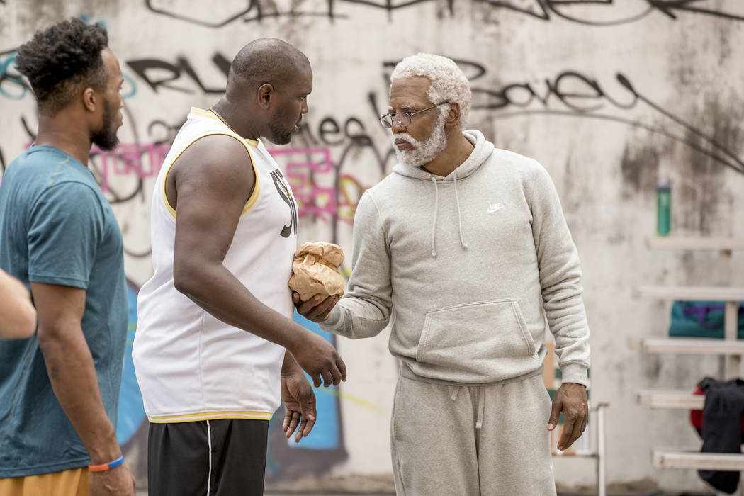 Kyrie Irving stars as 'Uncle Drew' in 'Uncle Drew' . Photo Credit: Quantrell Colbert/Lionsgate
