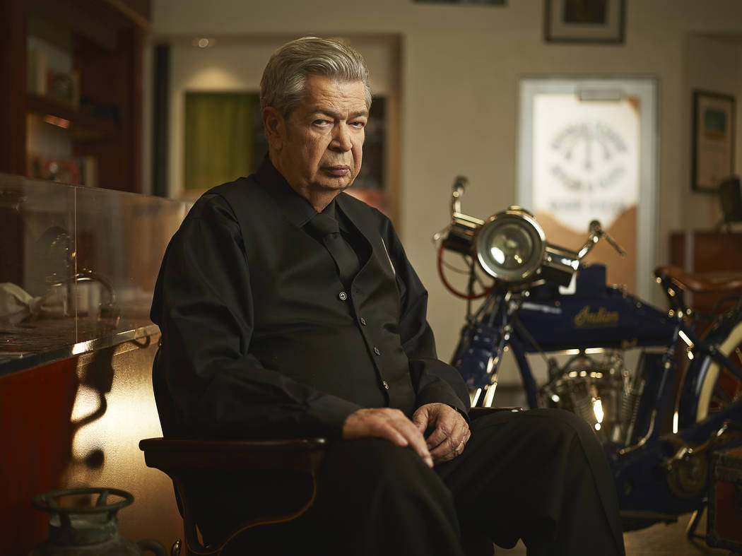 "Richard Harrison scaled back his ""Pawn Stars"" appearances about a year ago. (Joey L./History)"