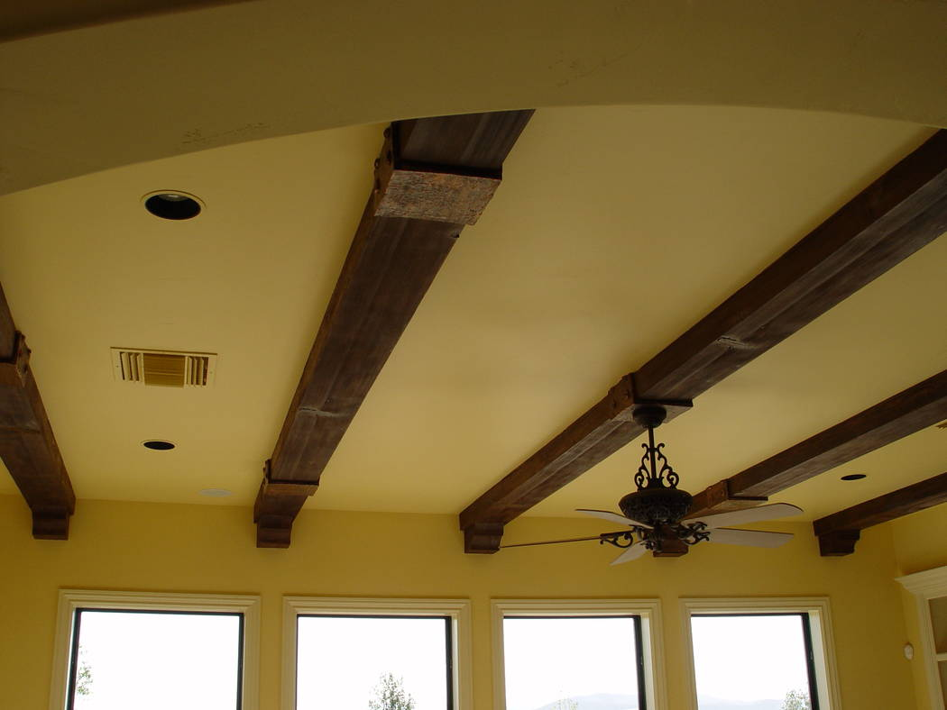Realm of Design Adding architectural faux wood beams to an interior ceiling has become increasingly popular because of the beams' versatility, functionality and, of course, attractiveness.