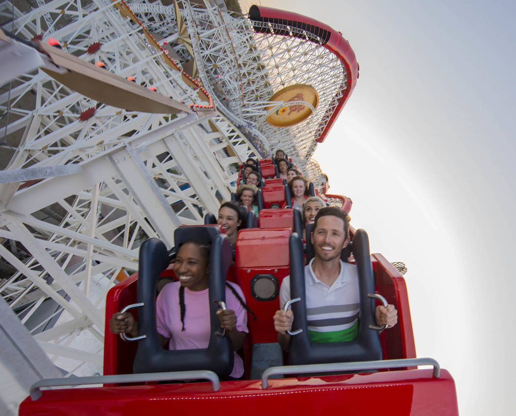 The Incredicoaster at Disney California Adventure Park. (Joshua Sudock/Disneyland Resort)