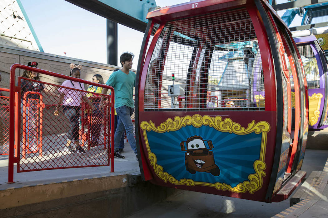 The Pixar Pal-A-Round includes the iconic face of Mickey Mouse on the Paradise Bay side of the wheel and a Pixar pal on each of the 24 gondolas. This reimagining of a guest favorite now includes, ...