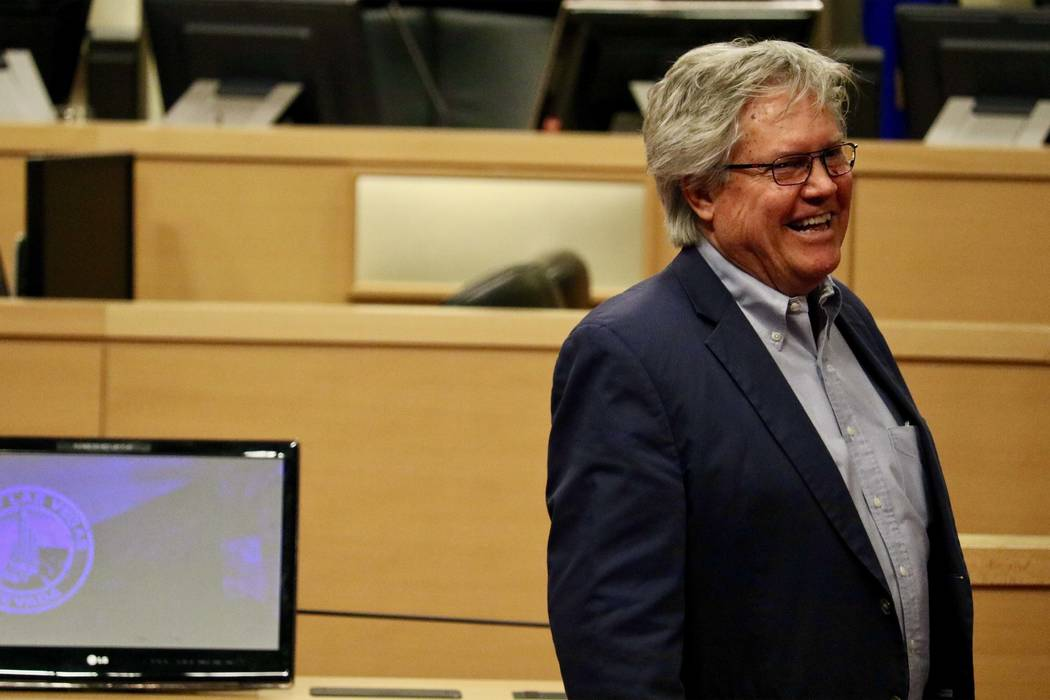 Sen. Tick Segerblom remains the winner of his Democratic primary for a Clark County Commission seat after a recount by the county's election department confirmed Tuesday afternoon, June 26, 2018 ...