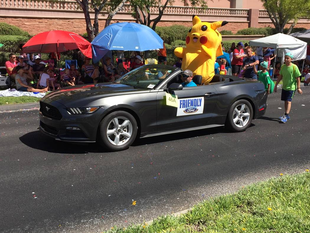 Friendly Ford Friendly Ford will again sponsor the Summerlin July 4th parade with 12 Ford trucks and five Ford convertibles. The 24th annual event is scheduled to begin at 9 a.m. in the northwest ...