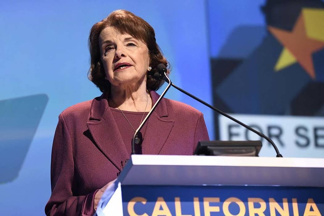 Sen. Dianne Feinstein, D-Calif. (Denis Poroy/AP)
