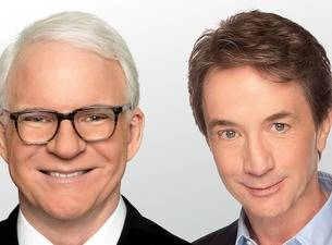 COURTESY Steve Martin and Martin Short perform together Sunday at The Colosseum at Caesars Palace.