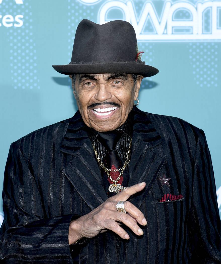 Joe Jackson, legendary father of the Jackson Family, on the Soul Train Awards 2017 red carpet at The Orleans in Las Vegas, Nov. 5, 2017. (Glenn Pinkerton/Las Vegas News Bureau)