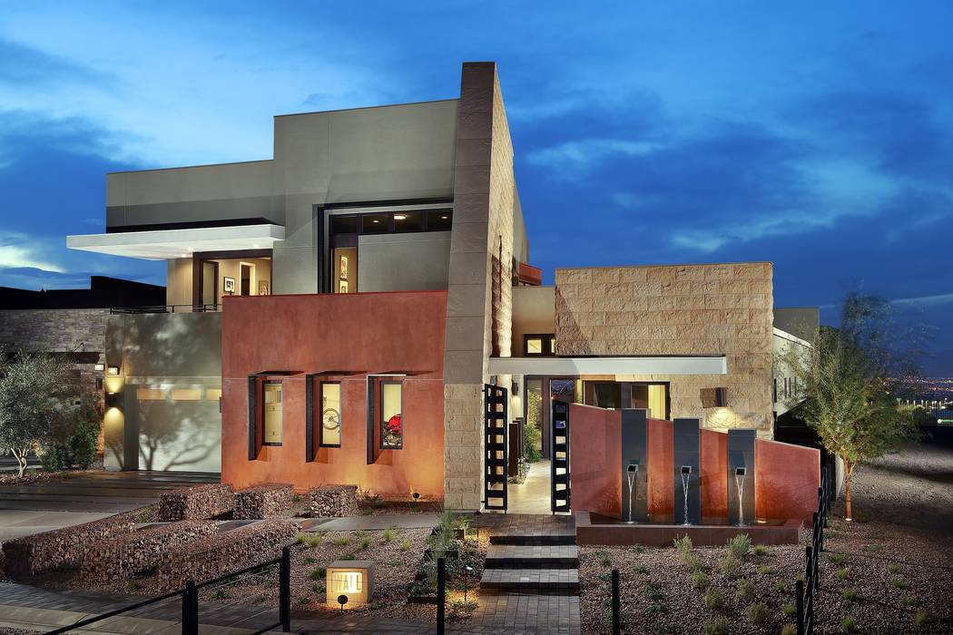 The Wall plan at Pardee Homes' Axis in Henderson received two Silver Nugget Awards from the Southern Nevada Home Builders Association. (Pardee Homes)