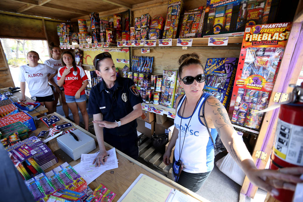 Officials targeting illegal fireworks in Las Vegas Valley | Las